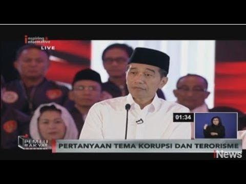 [FULL] Debat Pertama Capres dan Cawapres Pemilu 2019 - Part 03