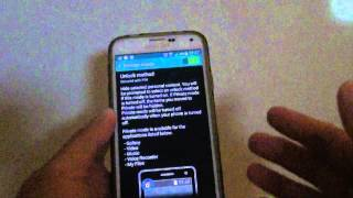Samsung Galaxy S5: Can You Reset the Private Mode Password?