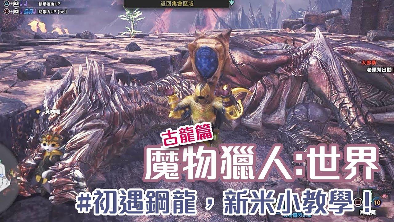 魔物獵人世界【鋼龍,冥燈龍 - YouTube