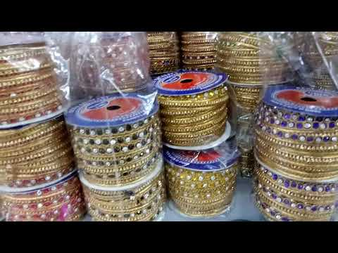 Lace manufacture and wholesale lace market in surat