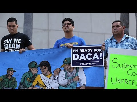 New Trump Immigration Memo Revives Call for Obama to Pardon All Undocumented Immigrants, Extend DACA