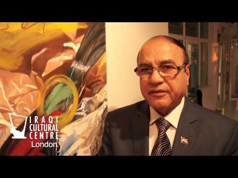 Iraqi Cultural Centre in London - Ali Jabbar Art Exhibition