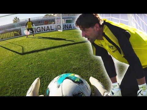 Bürki, Weidenfeller, Reimann - Goalkeeper training in Marbella