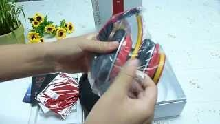 Monster Beats By Dr Dre Red/Yellow  Studio Headphone