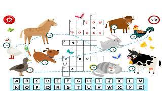 Crossword For Kids  - Word Games For Kids