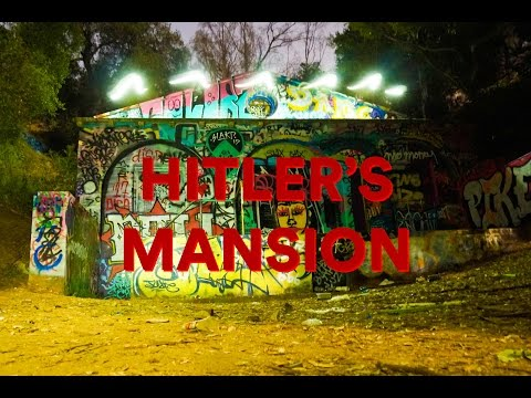 THERE WAS SOMETHING IN THE BUSHES!!! Exploring Hitler's Haunted Mansion