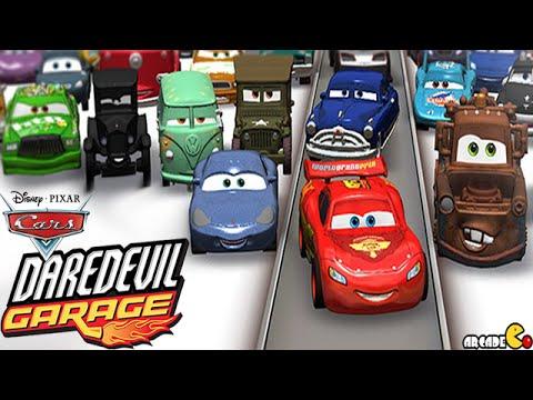 Cars Daredevil Garage Racing Stunt With Disney Pixar