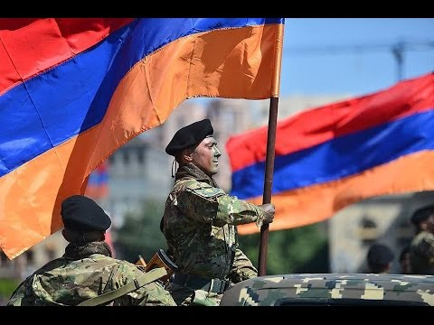 2020 Armenian Army NEW WEAPONES IN PARADE