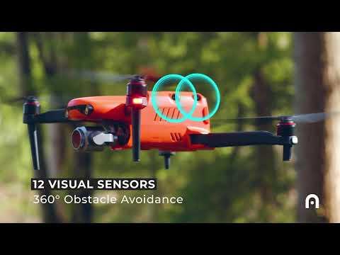 Autel EVO 2 drone 오텔 에보 2 드론 다이나믹 트랙킹, 360도 장애물 회피  덕유항공(주)