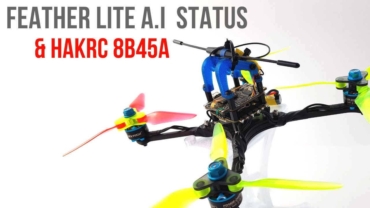 FeatherLite A.I Pid Controller Update & BEST 20x20 ESC EVER!!! with a twist