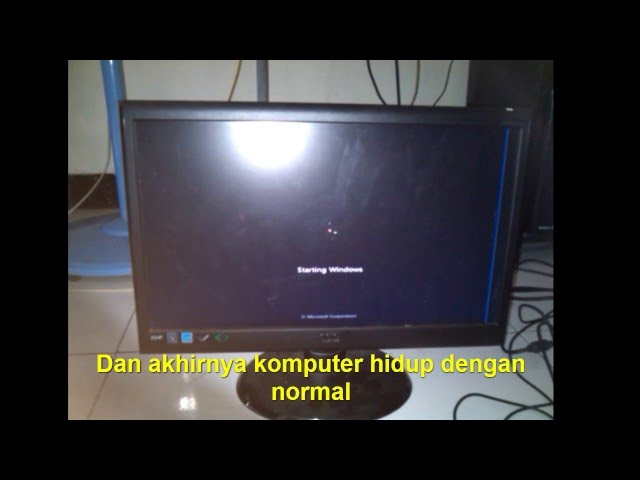 Cara Mengatasi Komputer CMOS CHECKSUM ERROR