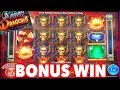 BONUS WINS on Action Dragons ! The Slot Sharks