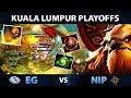EG vs NIP TOP 3 MATCH !! ONE OF THE MOST EPIC SERIES IN 2018 - Kuala Lumpur Major - EPIC Dota 2