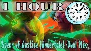 Spear of Justice (Undertale) -Dual Mix- ToxicXEternity, insaneintherainmusic 1 hour | One Hour of...