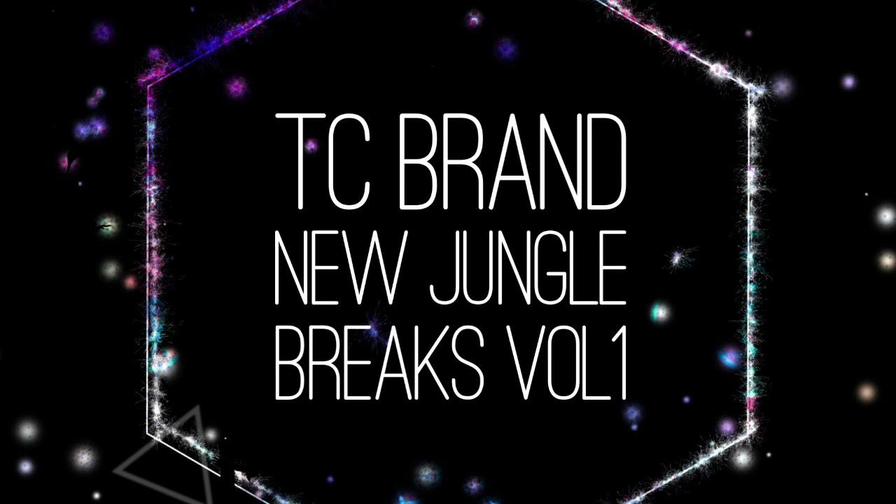 Brand new jungle Breaks Sample Pack