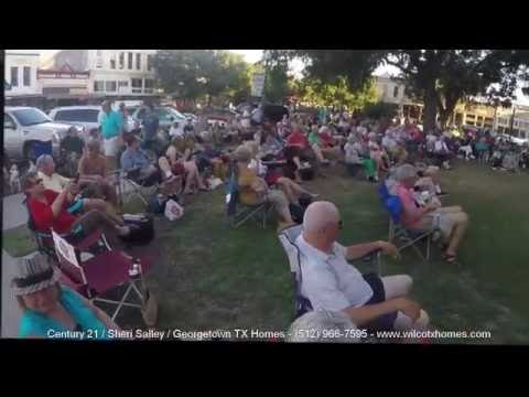 Georgetown Tx Friday Music On The Square