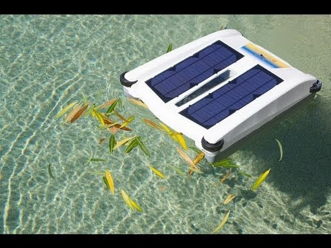 solar breeze robot nettoyeur de piscine l 39 nergie solaire youtube. Black Bedroom Furniture Sets. Home Design Ideas