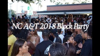 NC A&T 2018 BLOCK PARTY!!! | Krystal Hall