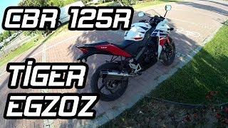 CBR 125R Tiger Egzoz | TRI 780 Yeni Egzozum