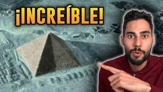 ¡INCREÍBLE! Antigua Fotografía Demuestra que la Gran Pirámide tiene 8 Caras