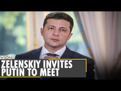 Ukrainian President Zelensky invites Russia's Putin to meet | Russia-Ukraine border | English News