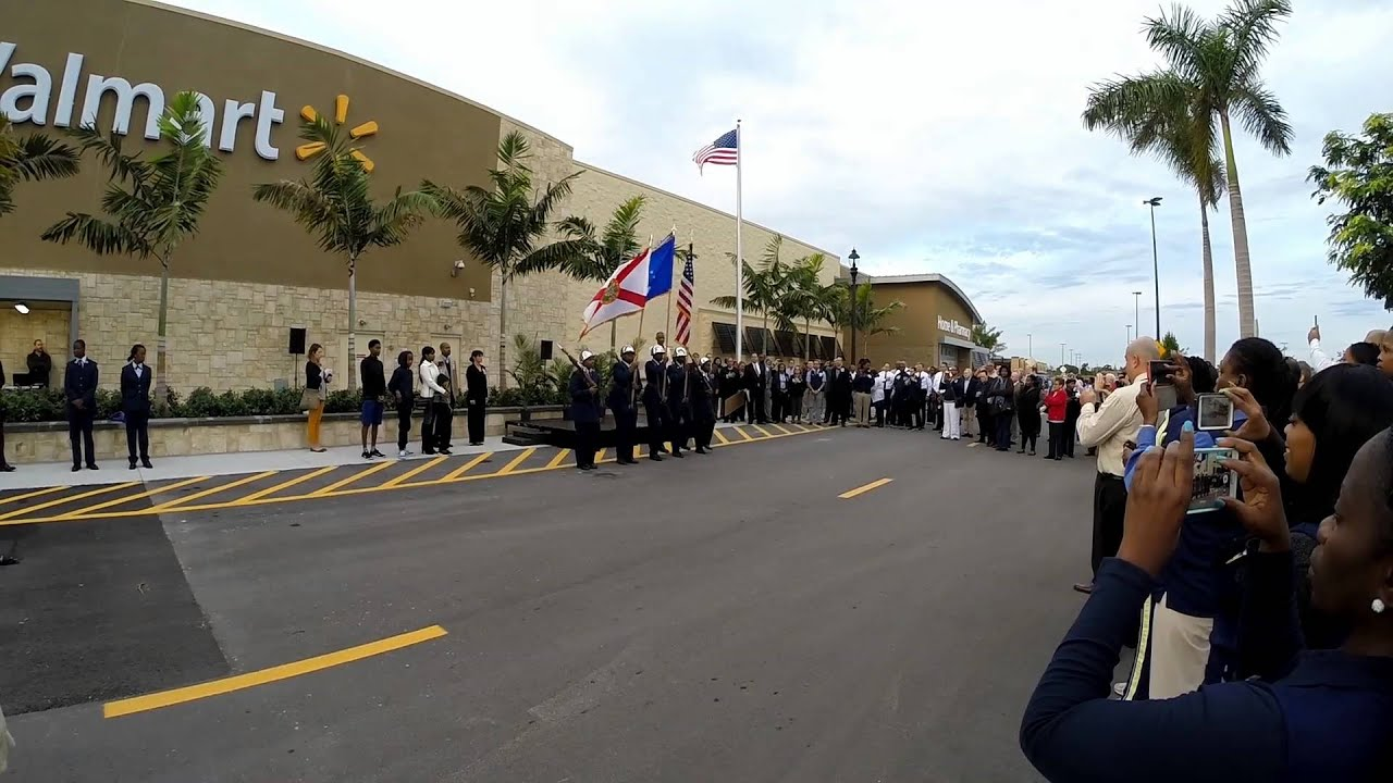 walmart grand opening ceremony fort lauderdale fl