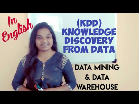 Knowledge Discovery From Data | KDD (In ENGLISH) | KDD Process In Data Mining
