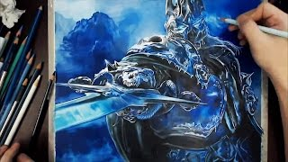 Drawing Lich King(Arthas) 리치킹 그리기