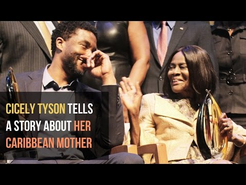 Cicely Tyson Shares a Story About Her Caribbean Mom  SocaMom®