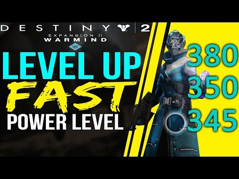 Destiny 2 HOW TO LEVEL UP FAST - Warmind Power Leveling- How To Level Up FAST Power
