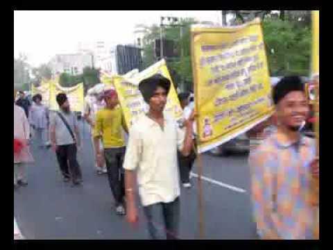Chetna March organised by Shan-E-Khalsa against Liquor in Sri Amritsar Sahib