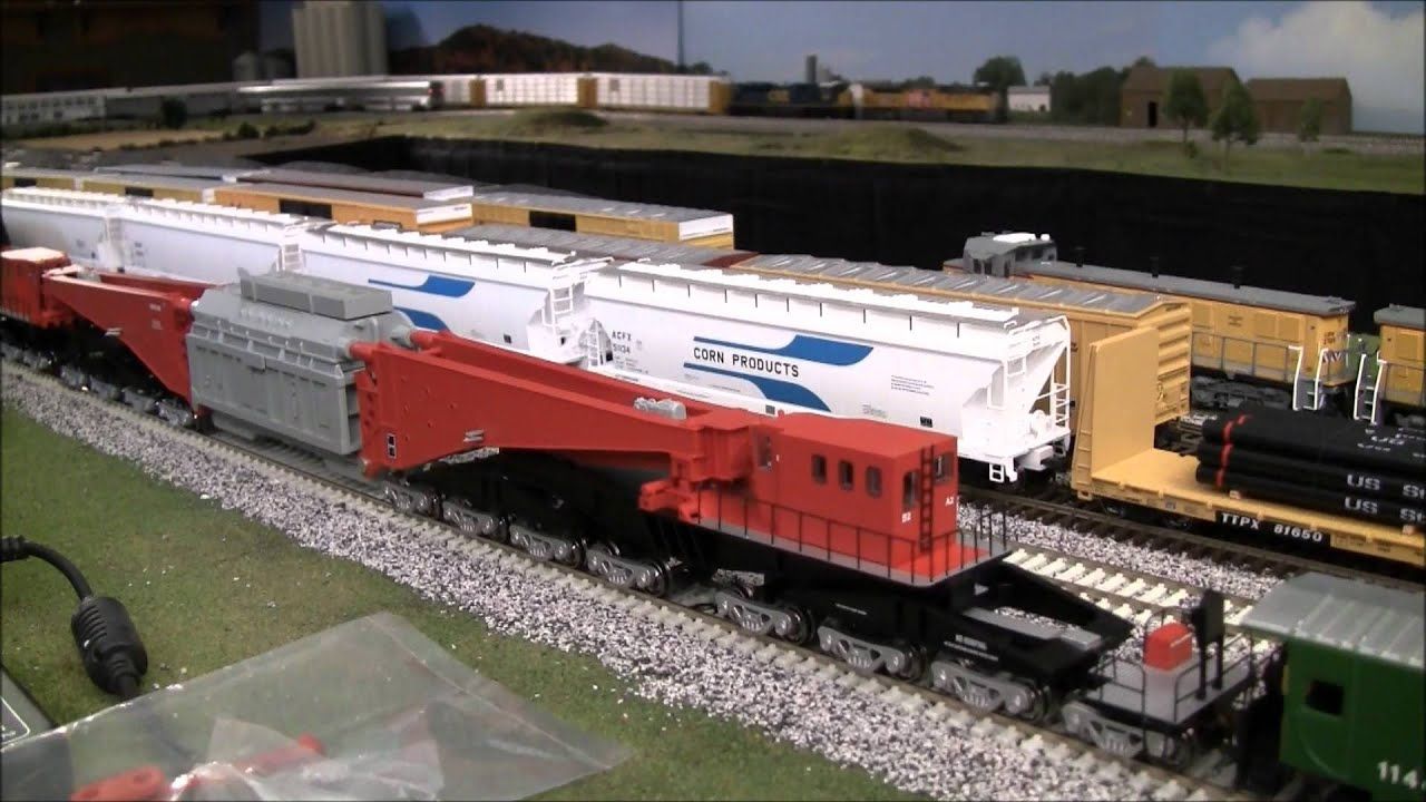 Review Of Bachmann Ho Scale Schnabel 380 Ton Transformer Car Youtube