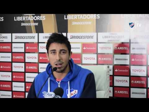 Conferencia de prensa de Martín Lasarte y Jorge Fucile - 27/4/2017