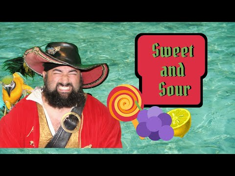 The Adventures of Captain Jay  and Tiki:Sweet or Sour?