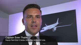 Pilots Like What They're 'C-ing' with the New Bombardier C Series