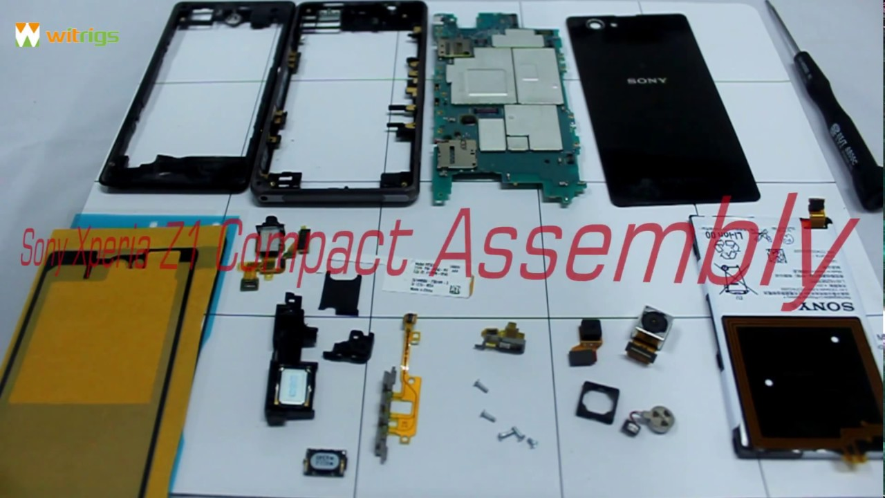 Sony Xperia Z1 Compact Assembly Youtube