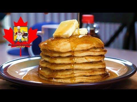 Stuffed Pancakes   Pancakes   Maple Syurp
