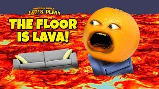 Annoying Orange Plays - The Floor Is Lava