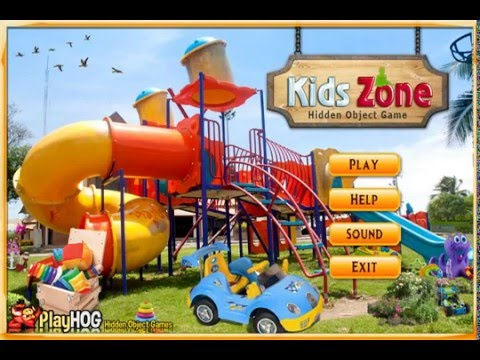 Kids Zone - Free Find Hidden Objects Games