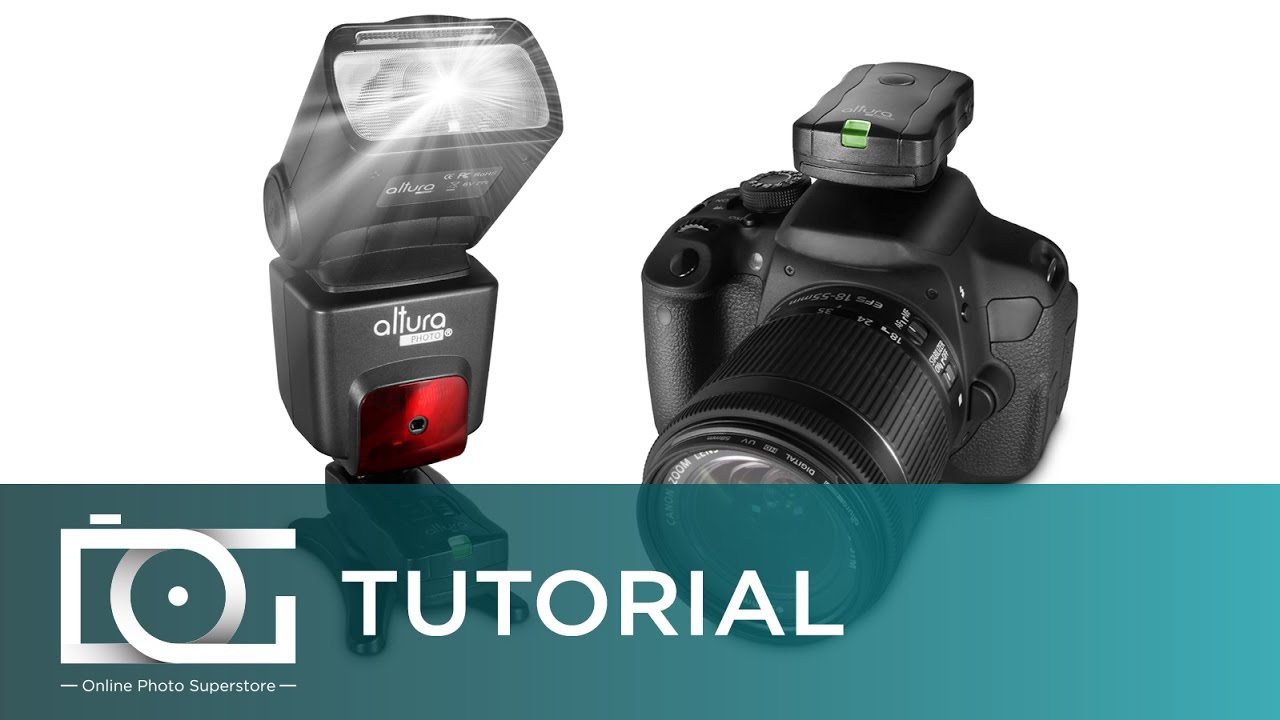 Flash Triggers: How To Sync Wireless Flash Triggers on DSLR Cameras | Photo  Studio Video Tutorial