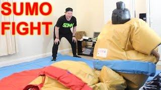 INDOOR SUMO FIGHTING!!!