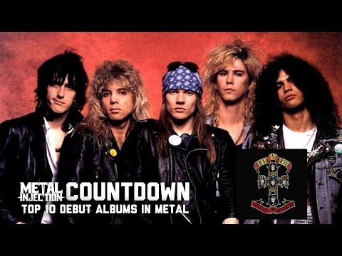 2. GUNS N' ROSES Appetite For Destruction – Top 10 Debuts In Metal | Metal Injection