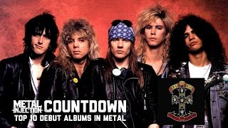 2. GUNS N' ROSES Appetite For Destruction - Top 10 Debuts In Metal | Metal Injection