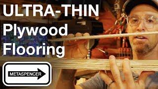 ULTRA THIN Plywood Flooring
