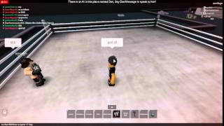 Roblox WWR Ep.5 - LAST SHOW TILL WRESTLEMANIA!!!! Part 3