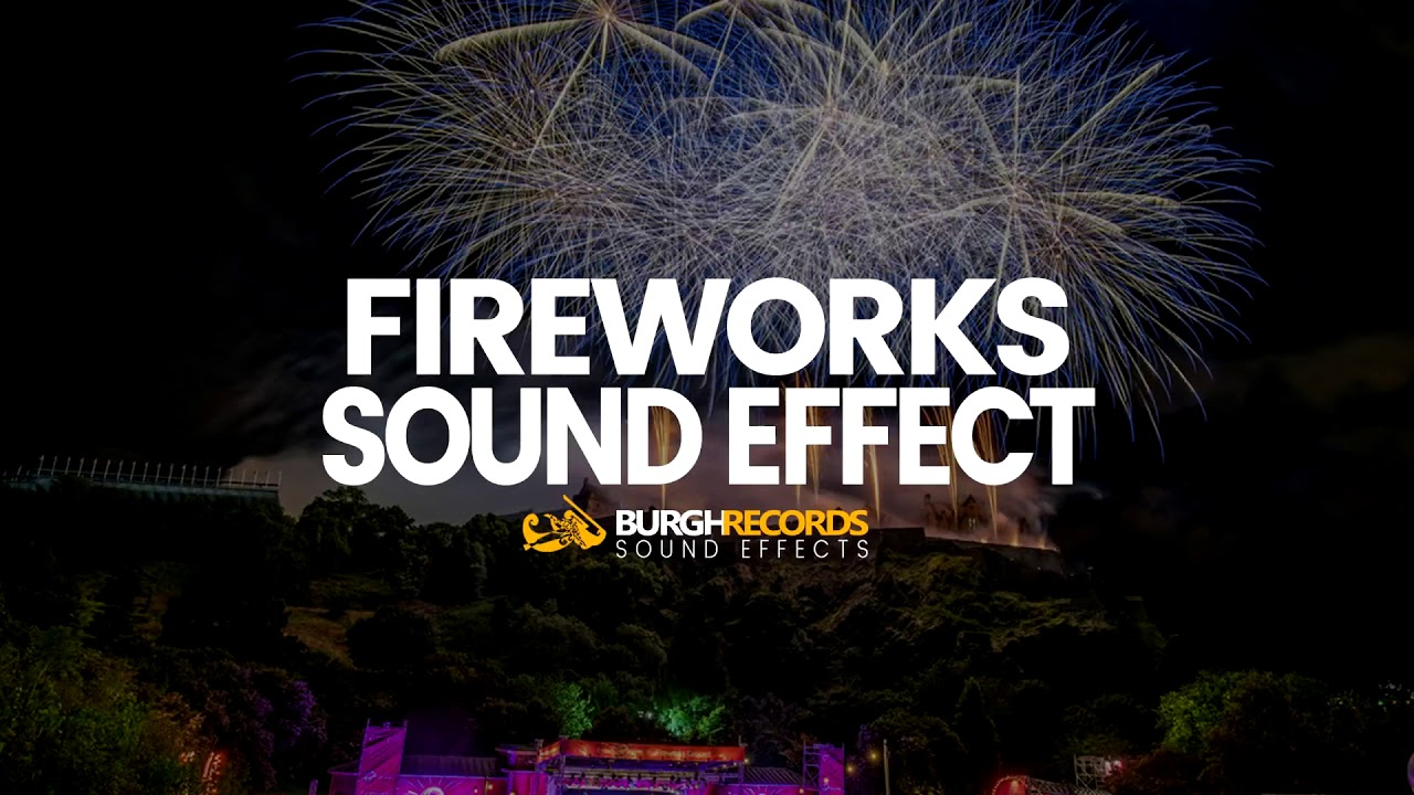 Fireworks sound effect (free download) youtube.
