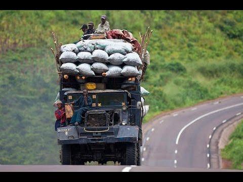Город Бужумбура! столица Бурунди!! Bujumbura! the capital of Burundi!