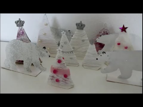 diy weihnachten advent tannenwald zauberwald. Black Bedroom Furniture Sets. Home Design Ideas