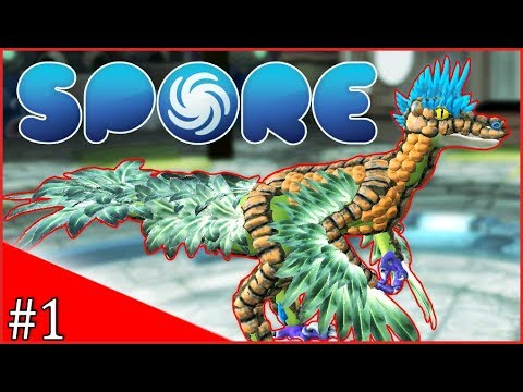 SPORE | CREATING MY CREATURE! | #1 (MODDED)