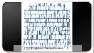 Blue Modern Tomato Furniture